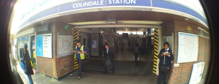 Colindale London Underground Station is one of Main places.