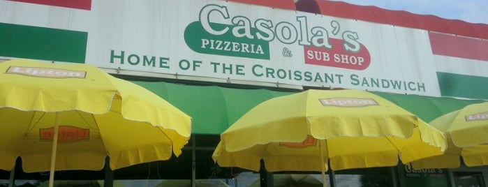 Casola's Pizzeria and Sub Shop is one of Restaurants.