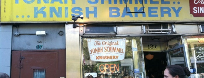 Yonah Schimmel Knish Bakery is one of Lunch.