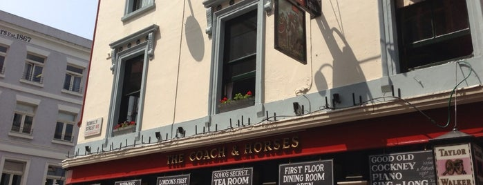 Coach & Horses is one of Soho Pubs & Bars.