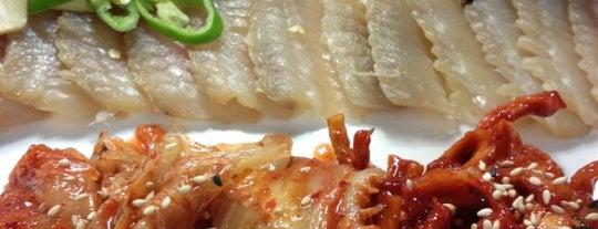 한남북엇국 is one of Itaewon food.