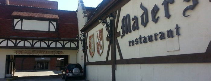 Mader's Restaurant is one of Must-eat Milwaukee.