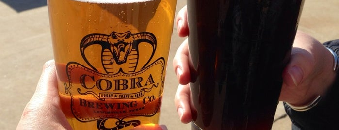 Cobra Brewing Company is one of My Visited Breweries.