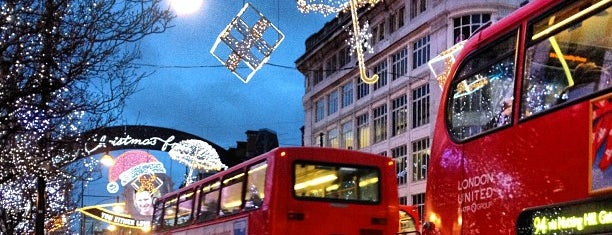 Oxford Street is one of London City Badge - London Calling.