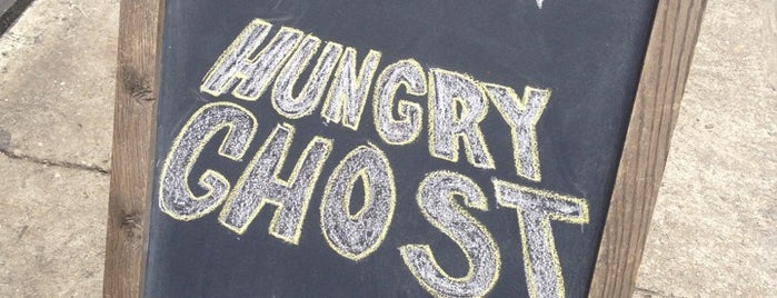 Hungry Ghost is one of NYC coffee.