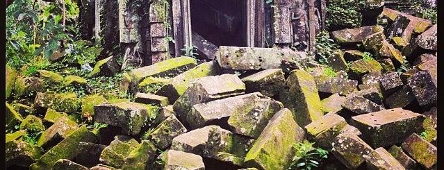 Beng Melea is one of Siem Reap Sep2012.