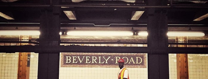 MTA Subway - Beverly Rd (2/5) is one of MTA Subway - 2 Line.