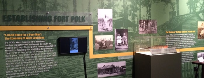 Fort Polk Museum is one of Louisiana.