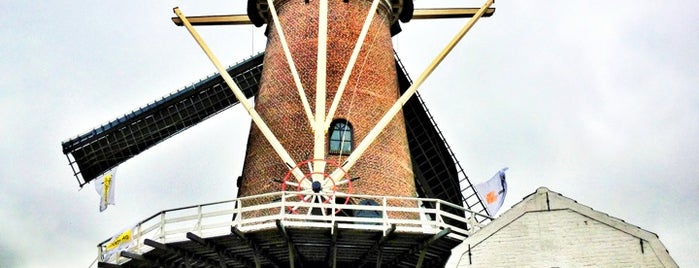 Molen De Hoop, Culemborg is one of Dutch Mills - North 1/2.