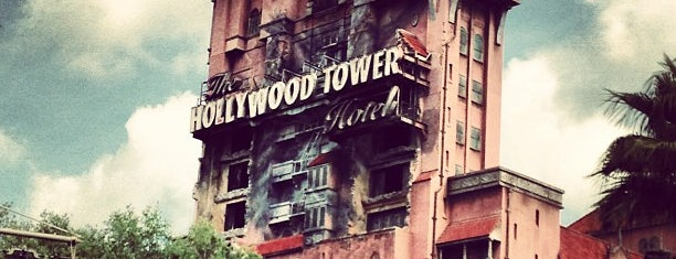 The Twilight Zone Tower of Terror is one of Disney World.