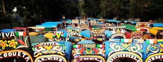 Trajineras Xochimilco is one of 100 Perfectas Ideas para Dominguear.