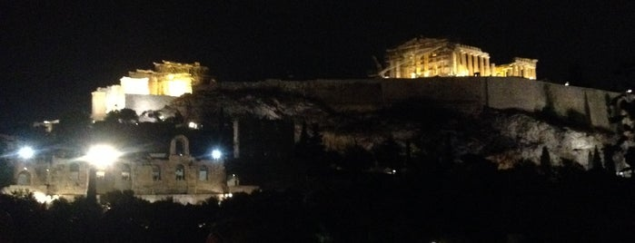 Αττικός Greek House is one of Places.