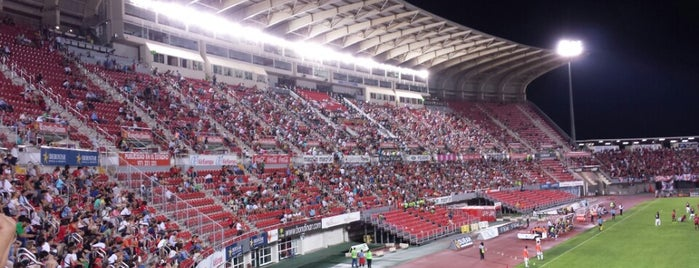 Estadi de Son Moix is one of Stadiums.