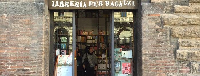 Giannino Stoppani Libreria Per Ragazzi is one of Bologna senza vie di mezzo SI! e NO!.