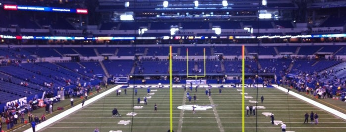 Lucas Oil Stadium is one of Celebrity Hangouts.