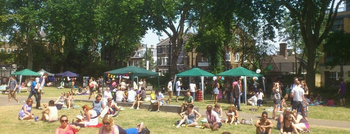 Newington Green is one of Must-visit Great Outdoors in London.