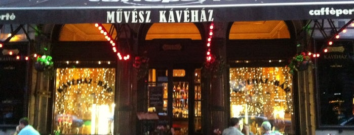 Művész Kávéház is one of Coffee.