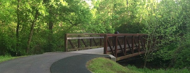 Swamp Rabbit Trail Downtown is one of Top 10 favorites places in Greenville, SC.