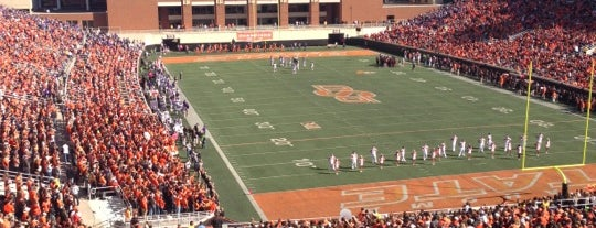 Boone Pickens Stadium is one of Stadiums.