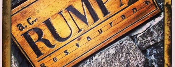A. C. Rumpa is one of Restaurants.