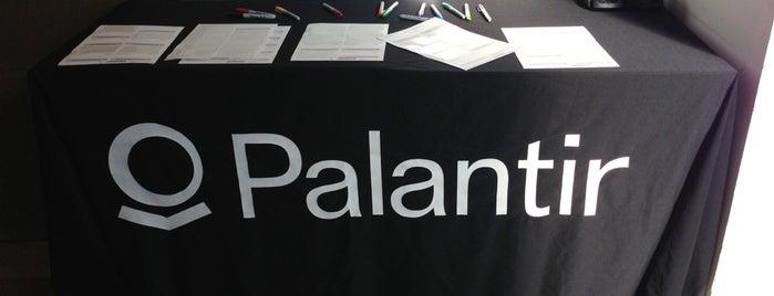 Palantir Technologies N.Y.C. is one of Design & Internet NYC.