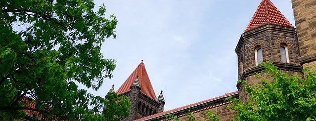 Altgeld Hall is one of Spring 2012.