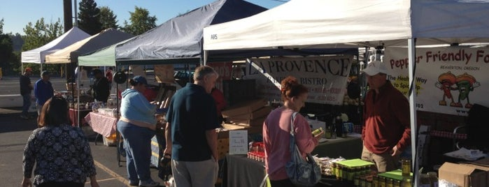 Tigard Farmers Market is one of My Saved Places.