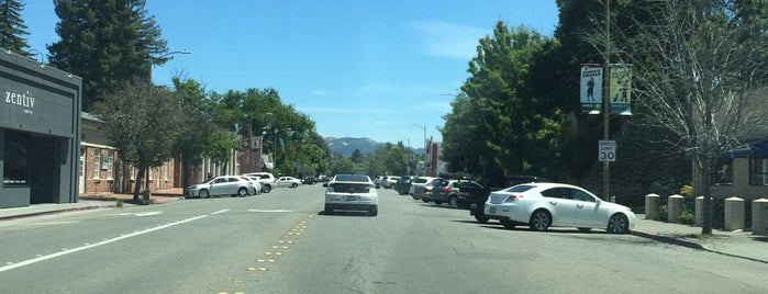 Downtown Santa Rosa is one of California 2012.