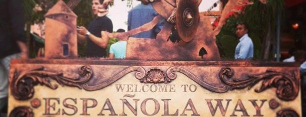 Espanola Way Village is one of Florida Favorite *Eats & Treats*.