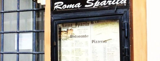 Roma Sparita is one of Rome.