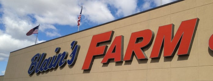 Blain's Farm & Fleet is one of Shopping.