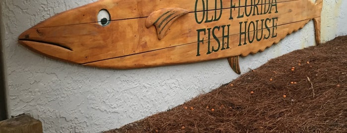 Old Florida Fish House is one of 30A Favorites.