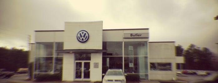 Butler Volkswagen is one of Top 10 favorites places in Macon, GA.