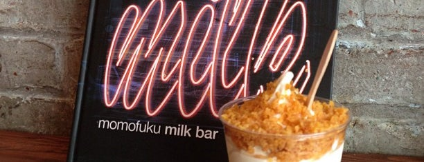 Momofuku Milk Bar is one of NYC to try.