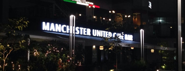The United Sports Bar and Grill is one of Visiting Pune?.