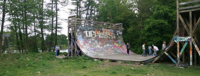 Mellowpark is one of Sommer Chillspots.