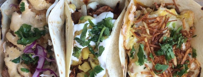 Huahua's Taqueria is one of favorites.