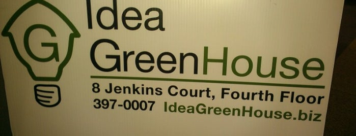 Idea Greenhouse is one of UNH Sustainability.