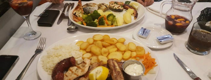 Oceano Restaurant is one of STA Travel London Cheap Eats.
