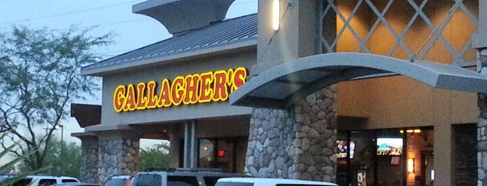 Gallagher's is one of 20 favorite restaurants.