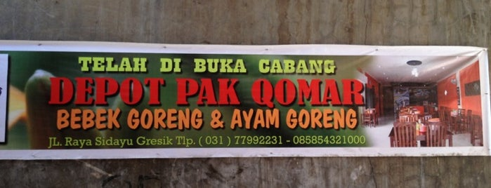 Depot Pak Qomar is one of Kuliner Wajib @Surabaya.