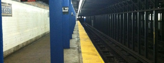 MTA Subway - E 143rd St/St. Mary's St (6) is one of NYC Subways 4/5/6.