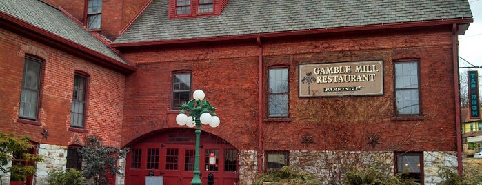 The Gamble Mill Restaurant is one of PA Shooflyer.