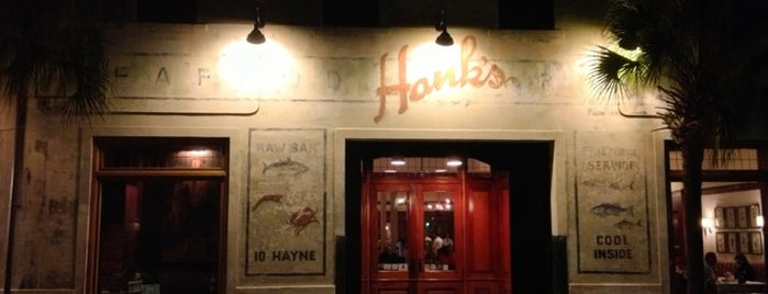 Hank's Seafood is one of Charleston.