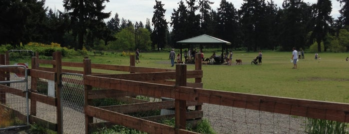 Fort Steilacoom Off-Leash Dog Park is one of Dog walking in Tacoma.