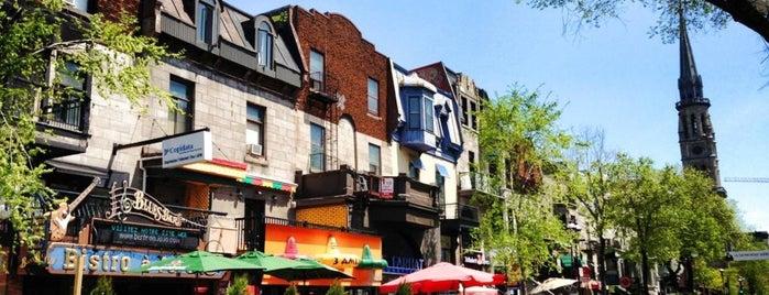 Rue Saint-Denis is one of Montréal.