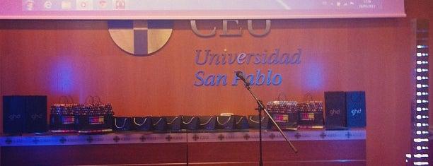 Facultad de Ciencias Económicas y Empresariales, Universidad San Pablo-CEU is one of Tania.
