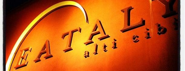 Eataly Torino Lingotto is one of Italy 2011.