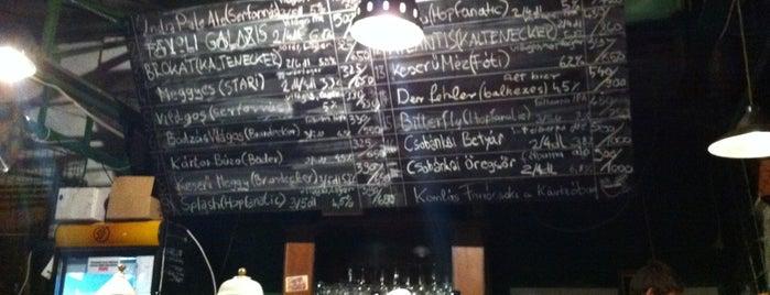 Élesztő is one of Legjobb cseh, belga és kézműves sörök!.