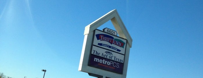 Thrift Town is one of DFW Record Stores.
